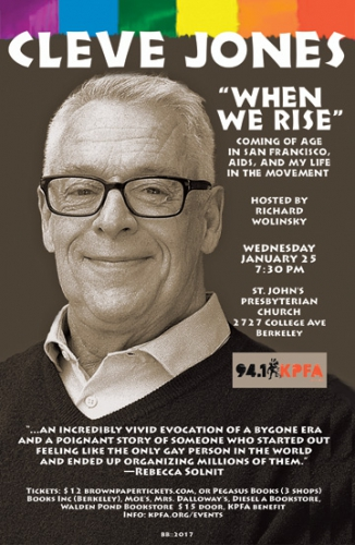 """When We Rise"" - Cleve Jones @ Berkeley 