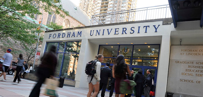 foto de Fordham Bans Students for Justice in Palestine : Indybay