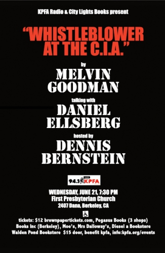 Whistleblower at the CIA: Melvin Goodman with Daniel Ellsberg @ First Presbyterian Church | Berkeley | California | United States
