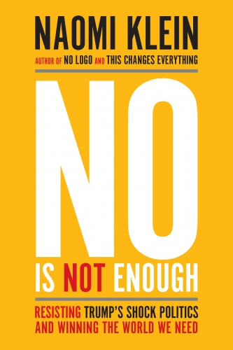 Naomi Klein presents her new book No Is Not Enough @ First Presbyterian Church of Berkeley | Berkeley | California | United States
