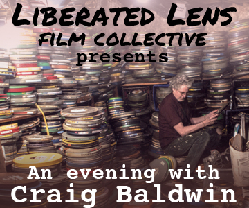 Liberated Lens film night: local filmmaker Craig Baldwin @ Omni Commons ballroom | Oakland | California | United States
