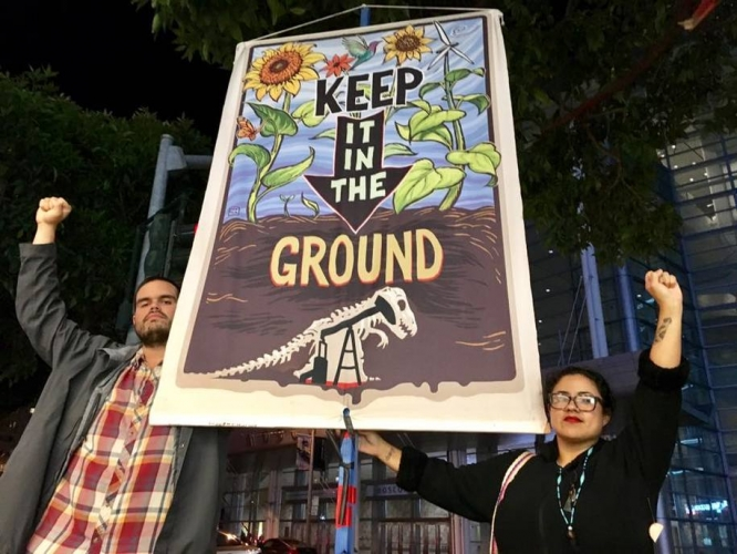 Bay Area Idle No More activist reflects on protesting Governor Jerry Brown s speech in Bonn