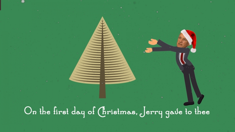 The Twelve Days Of Jerry Christmas Song And Animation