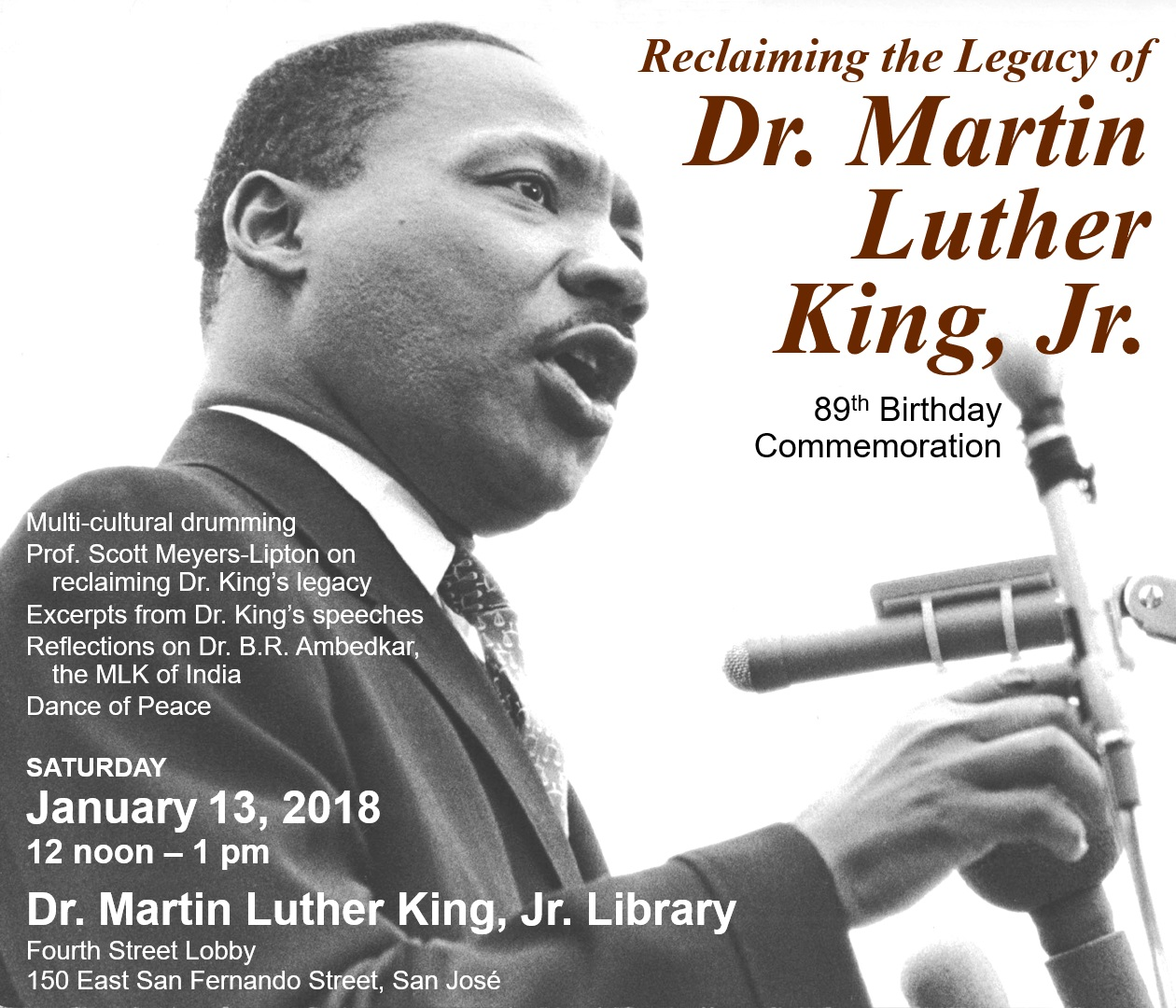 Dr. Martin Luther King, Jr.'s Brithday: Reclaiming the ...