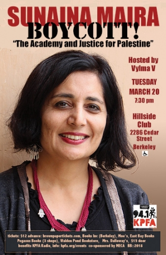 "BOYCOTT! ""The Academy & Justice for Palestine"" @ The Hillside Club 