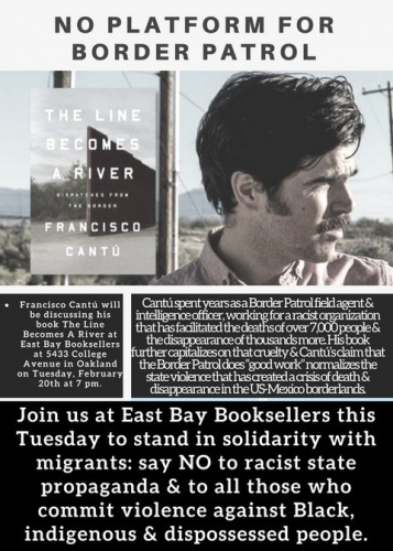 The Line Becomes a River (Book Author Discussion on the Border Patrol) @ East Bay Booksellers | Oakland | California | United States
