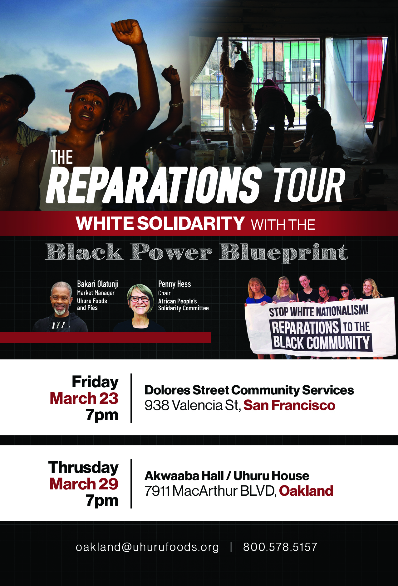 The reparations tour white solidarity with black power blueprint smsfoakspring4x6front1g malvernweather Gallery