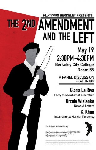 2nd Amendment and the Left: panel discussion @ Berkeley City College, Rm 55 | Berkeley | California | United States