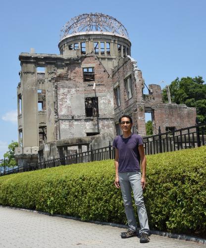Sharat Lin in Hiroshima