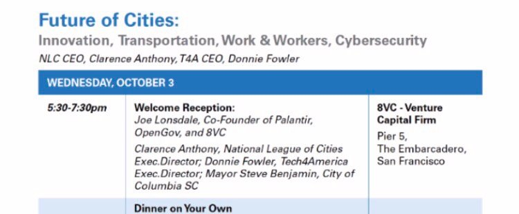 Private Function Hosted by Palantir Co-Founder for U S