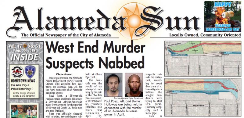 Alameda newspaper group – USA Breaking News