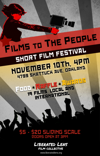 Films to The People Film Festival @ Omni Commons | Oakland | California | United States