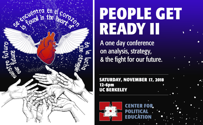 People Get Ready: Charting a path forward to building powerful movements and the radical left @ Dwinelle Hall Room, UC Berkeley | Berkeley | California | United States