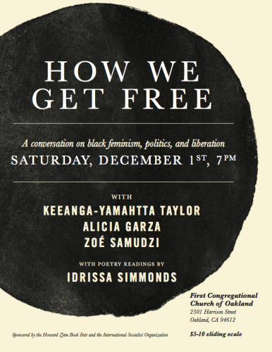 How We Get Free: A Conversation on Black Feminism, Politics, and Liberation @ First Congregational Church of Oakland | Oakland | California | United States