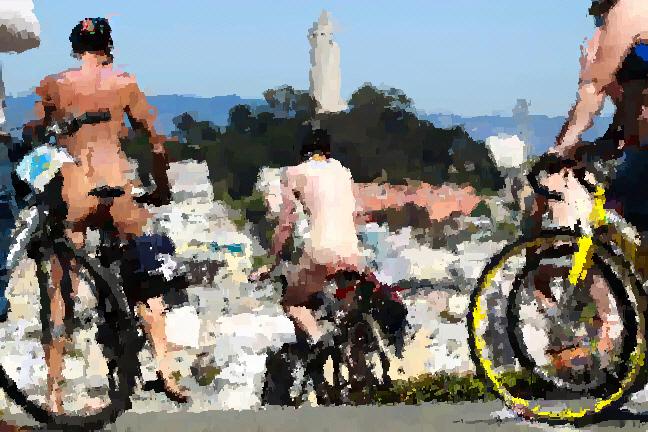 16th Annual World Naked Bike Ride - San Francisco No-Hemi Part I