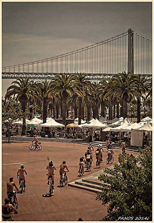 16th Annual World Naked Bike Ride - San Francisco No-Hemi
