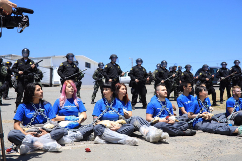 480_dxe-petaluma_june03-2019a_activists-chained-in-front-of-riot-police-holding-dead-ducks_1.jpeg