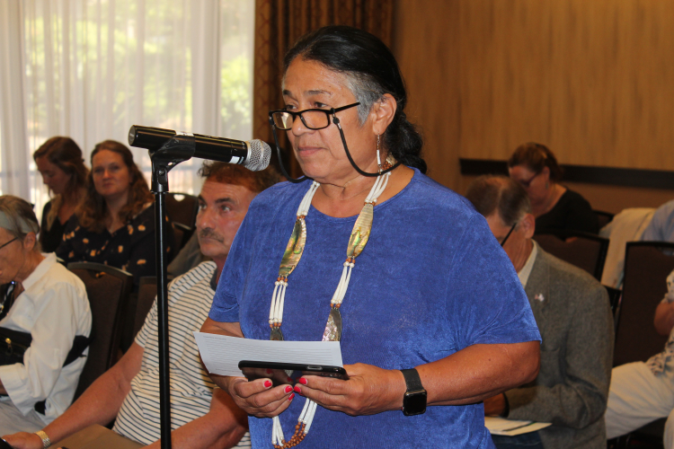 Winnemem Wintu Chief Asks Delta Tunnel Amendment Negotiators: When Will
