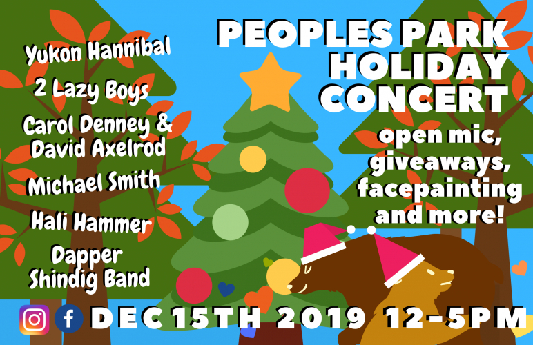 People's Park Holiday Concert @ People's Park