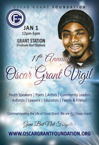 11th Annual Oscar Grant Vigil: Gone But Not Forgotten @ Fruitvale BART station