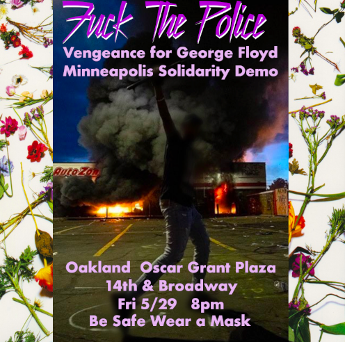 Minneapolis Solidarity Demo @ Oscar Grant Plaza