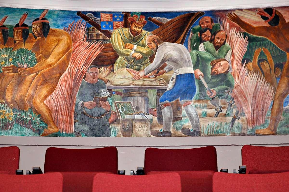 Ca Black History Under Attack By Ucsf Execs Bernard Zakheim S Murals Biddy Mason Indybay