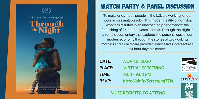 'Through the Night': Film & Discussion on Rise of Multiple Job Workers & 24 HR Daycare @ Online