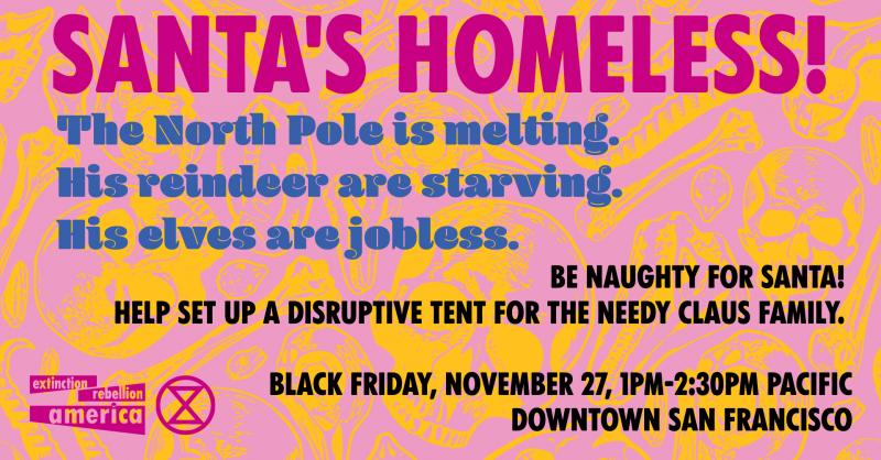 Help! Santa's Homeless!