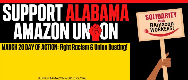 Oakland Solidarity With Amazon Workers - Car Caravan and Rally @ Lake Merritt BART Parking Lo