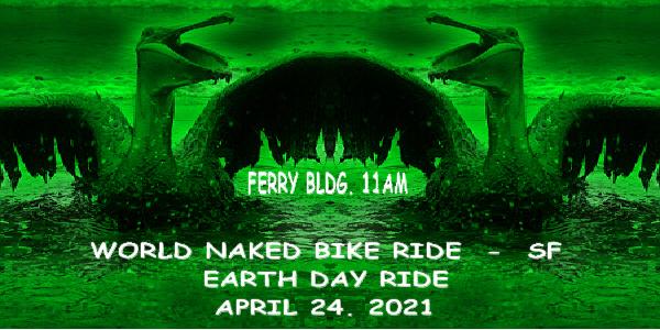 10TH Anniversary World Naked Bike Ride - San Francisco
