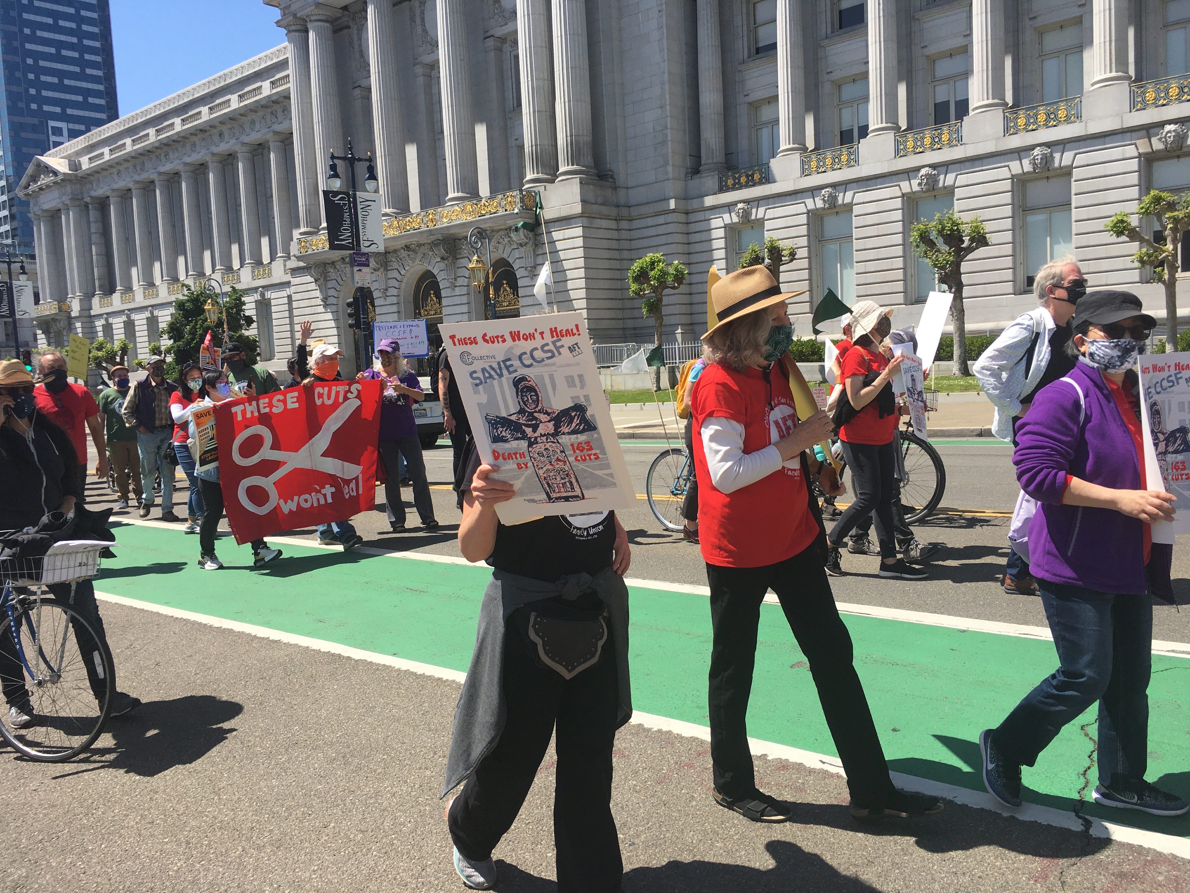 Ccsf 2022 Calendar.Faculty Students Rally Speak Out As Aft 2121 Leaders Make Major Concessions On Salaries Indybay