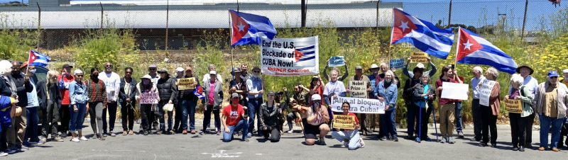 San Francisco Caravan: End the U.S. Blockade of Cuba - U.S. Hands Off Cuba!