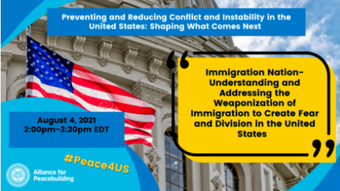 Immigration Nation: Understanding and Addressing the Weaponization of Immigration in U.S. @ Online