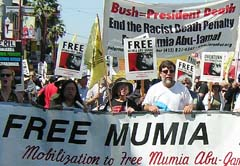 Free Mumia!  April 24th Demonstration