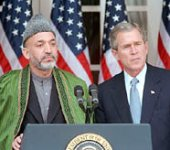 Bush and Karzai