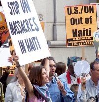 "Haiti Action Committee Plans Protest of Massacre by UN ""Peacekeepers"""