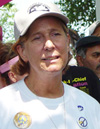 Vacaville Resident Cindy Sheehan Camps in Crawford