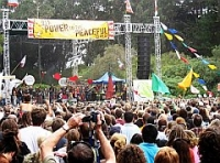 Power to the Peaceful Festival Rocks Golden Gate Park