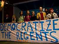 Students Demand a Democratic UC Board of Regents and No More Nuclear Weapons; 12 Lockdown