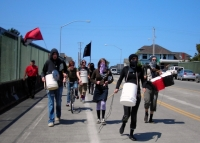 May Day Protests in Arcata
