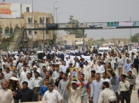 Thousands of Iraqis protest agreement for indefinite US occupation
