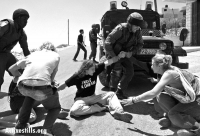 Demonstrations against the apartheid wall in Palestine