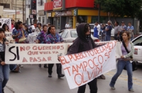 Tijuana March In Commemoration of Student Massacre
