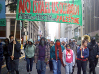 Solidarity with Tristan and Palestine Events Around the World