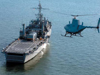 Navy Militarizes Coastal Waters