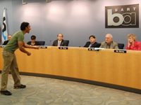 No Justice No BART Takes Over BART Board Meeting