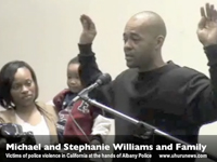 "Williams Family Brutalized During ""Routine Traffic Stop"""