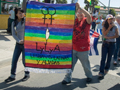 First Annual Dyke March in Watsonville on August 22nd