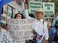 San Francisco Protest Against the Coup in Honduras