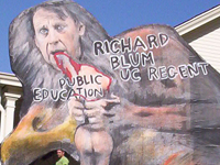 Low Wage UC Service Workers Pressure Regent Richard Blum
